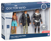 The two doctors collector figure set