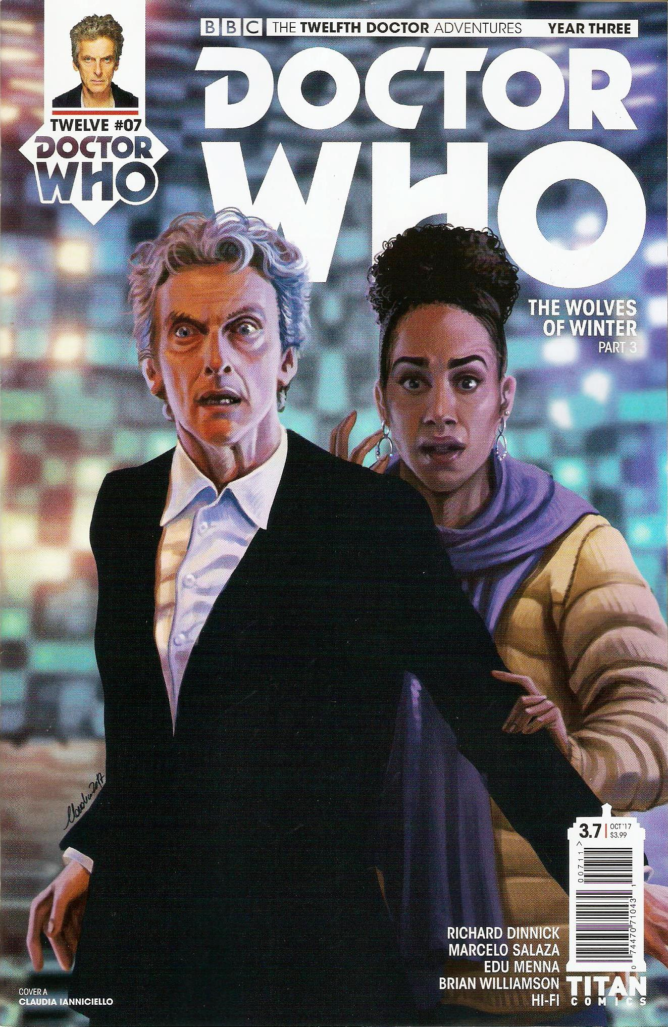Twelfth doctor year 3 issue 7a