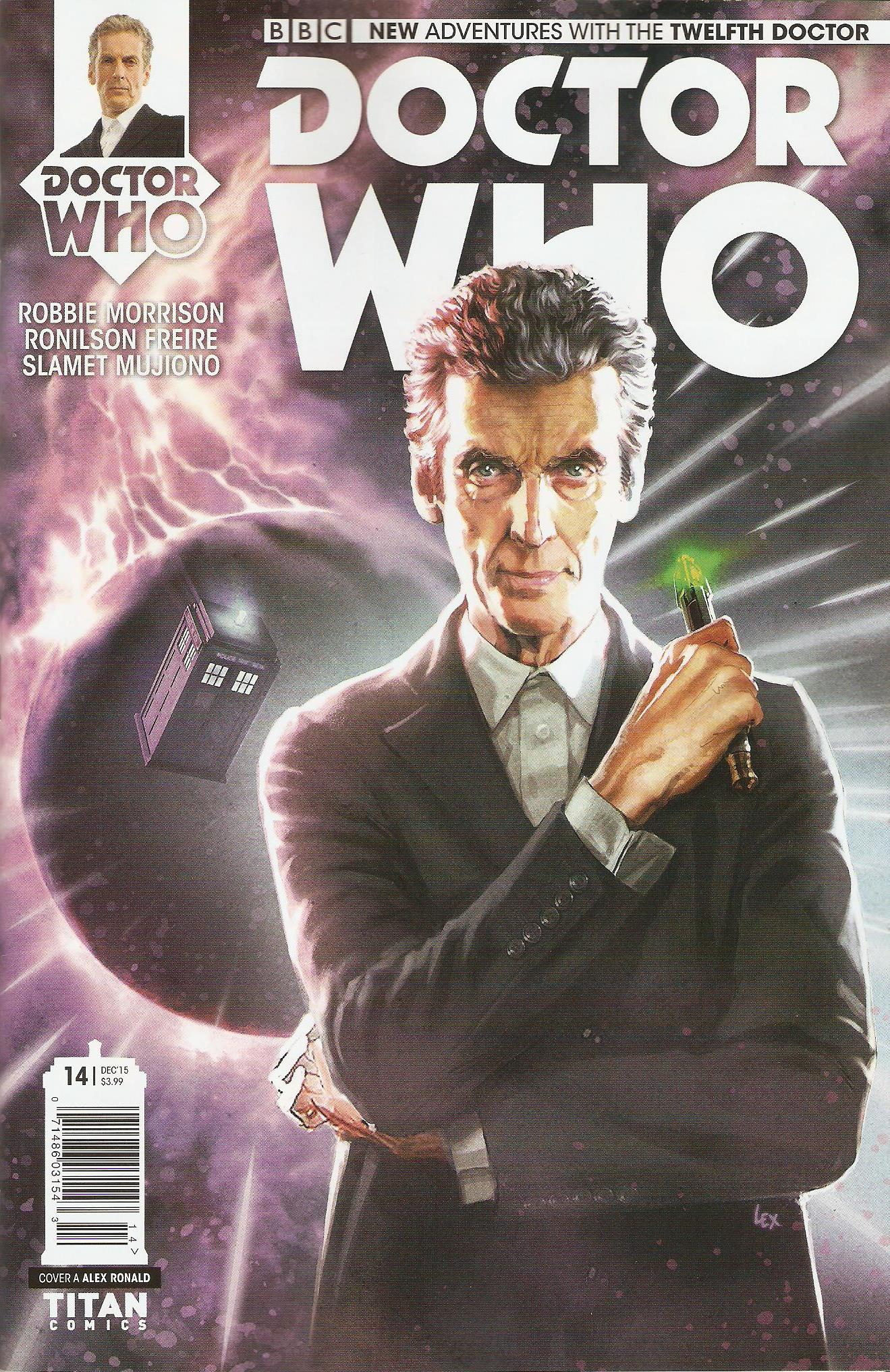 Twelfth doctor issue 14a