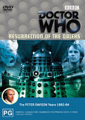 Resurrection of the daleks australia dvd