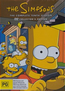 Simpsons complete tenth season australia dvd