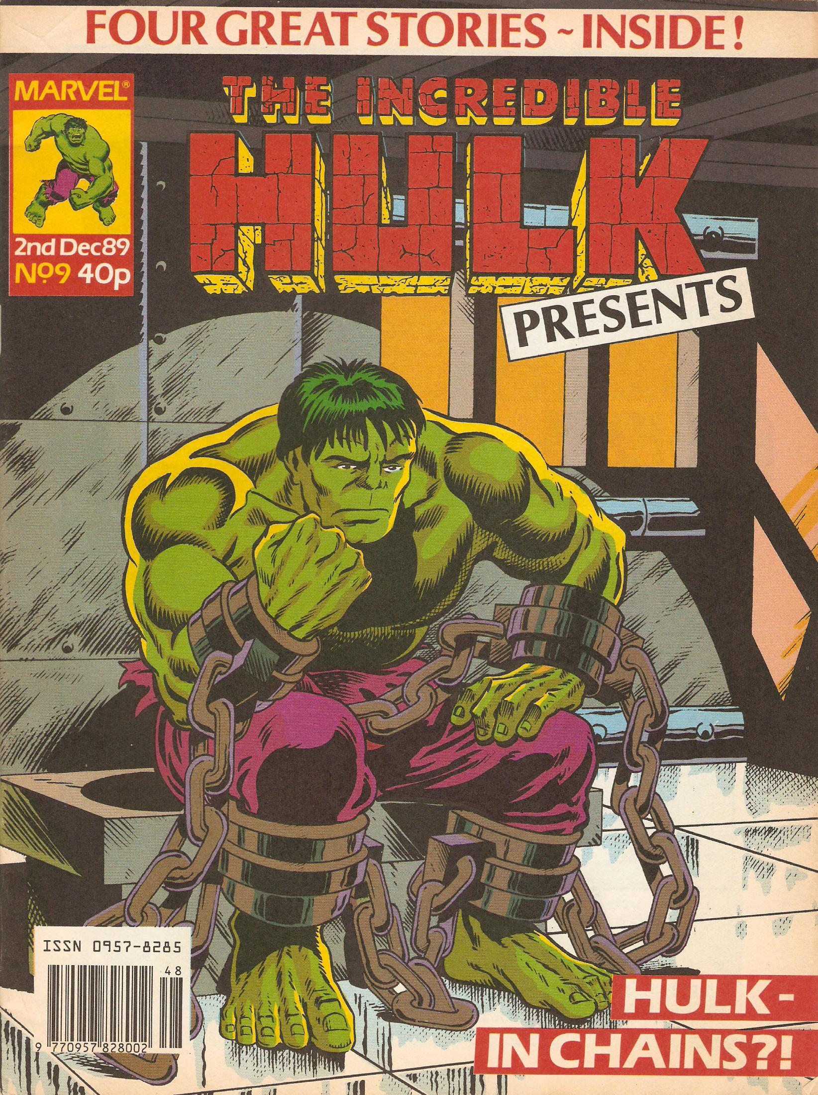 Incredible hulk presents 9