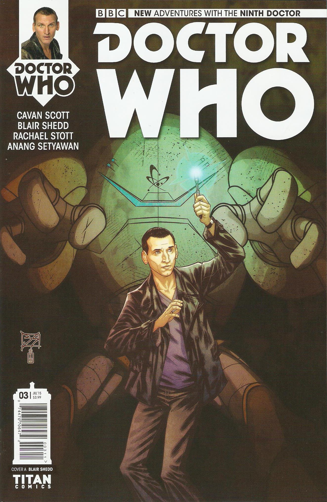 Ninth doctor issue 3a