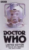 Attack of the cybermen tenth planet australia vhs