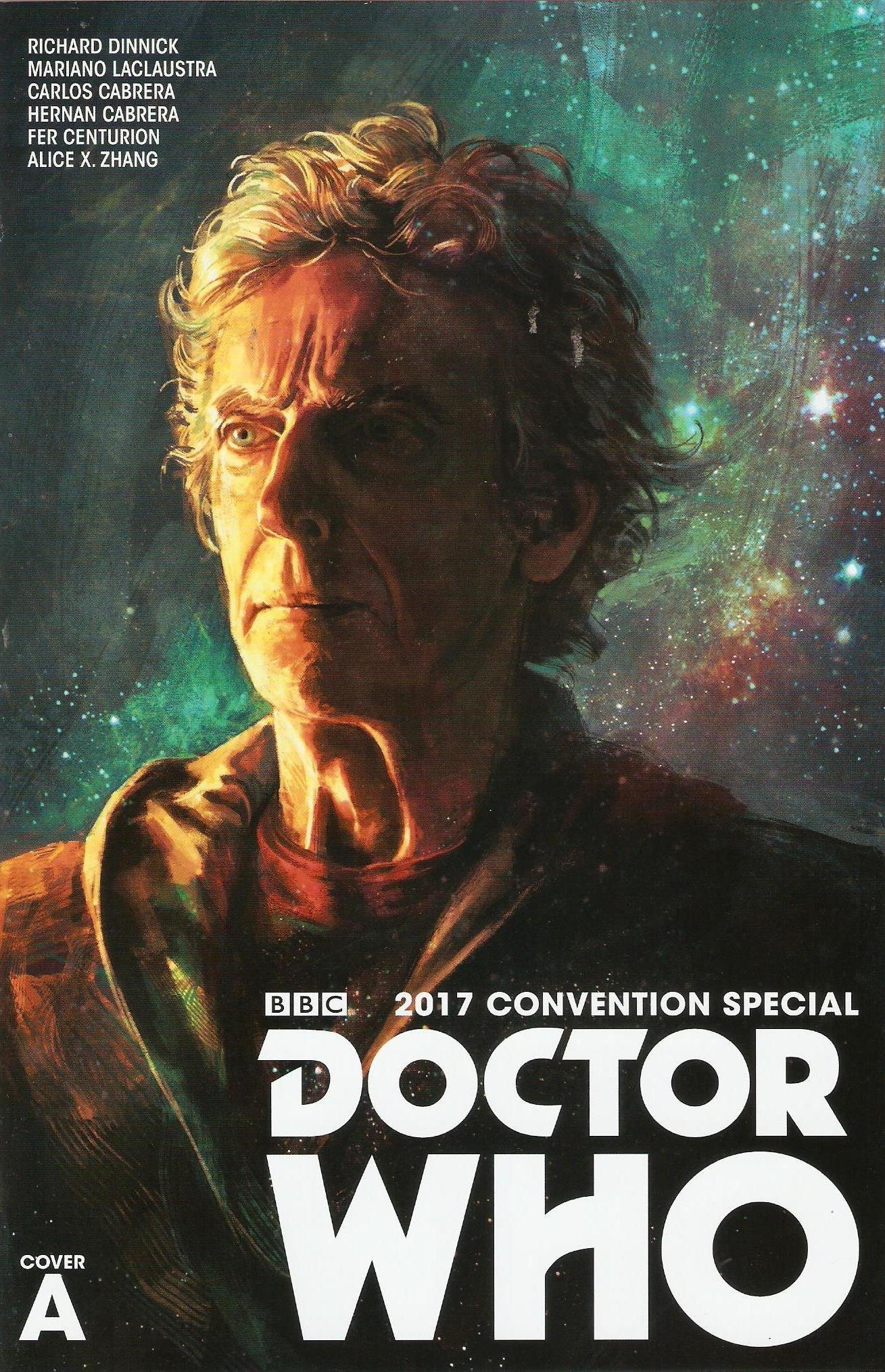 Doctor who 2017 convention special cover A