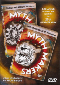 Myth makers doctor who magazine dvd