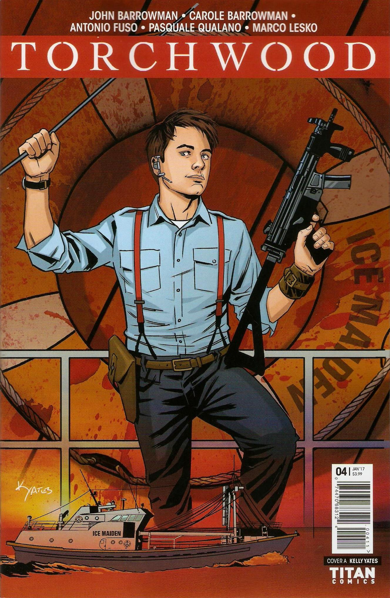 Torchwood issue 4a
