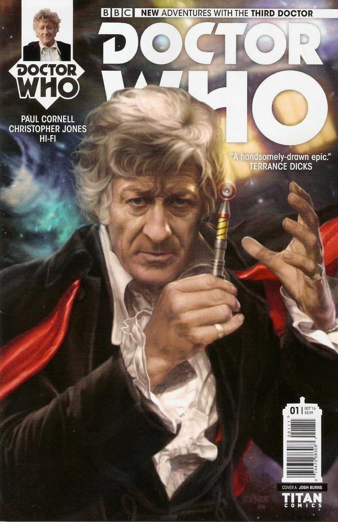 Third doctor issue 1a