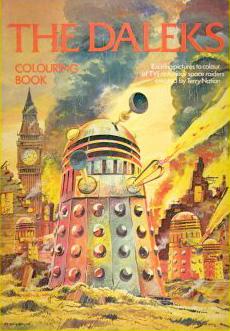 The Daleks Colouring Book