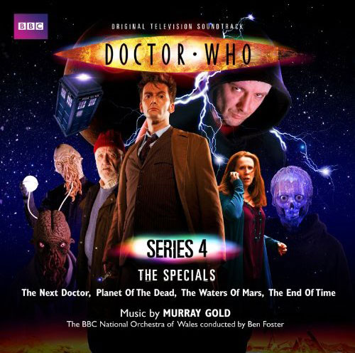 Series 4 specials music cd