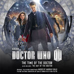 Time of the doctor music cd