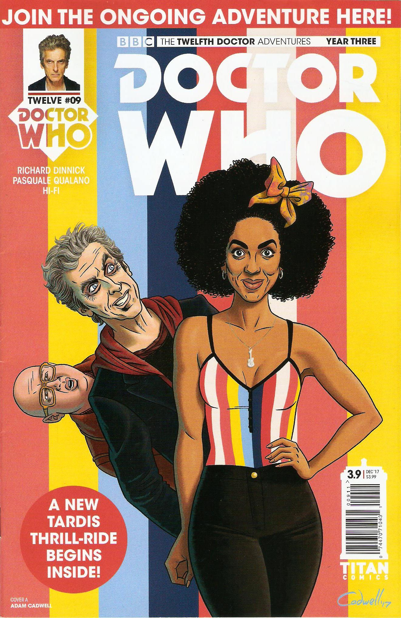 Twelfth doctor year 3 issue 9a