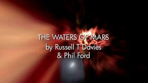 Waters of mars