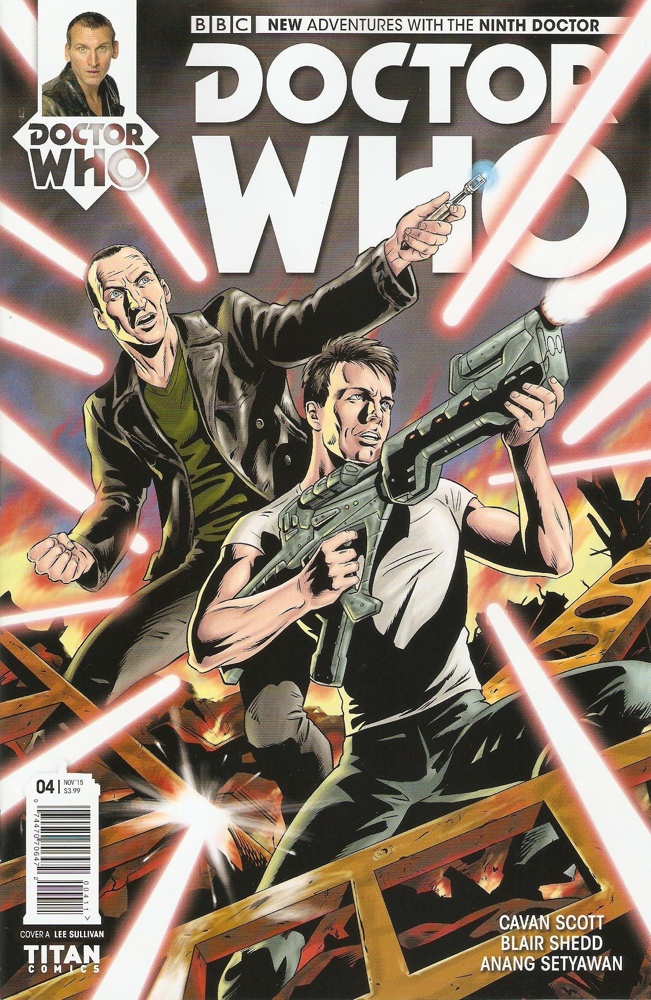 Ninth doctor issue 4a