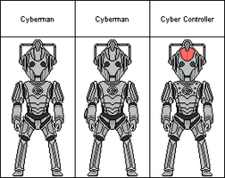 Cybermen-Rise of the Cybermen-Age of Steel - Army of Ghosts-Doomsday (2006)