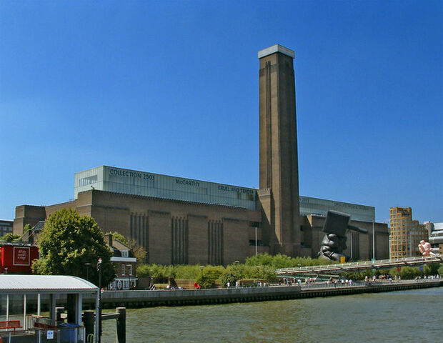 File:Tate Modern viewed from Thames Pleasure Boat - geograph.org.uk - 307445.jpg