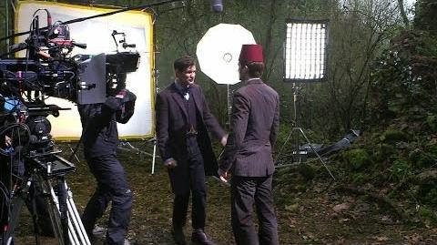 Matt Smith & David Tennant Our Doctors' Differences - The Day of the Doctor - Doctor Who 50th - BBC