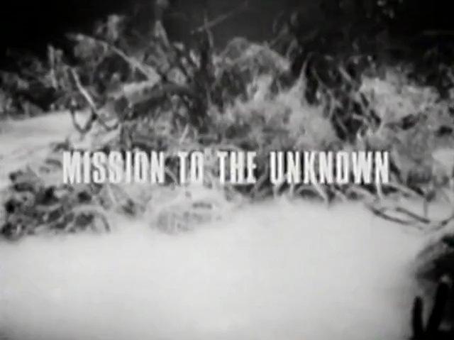 Mission to the Unknown (1) - Mission to the Unknown RECON