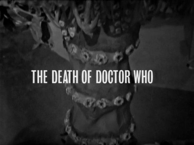 The Chase (5) - The Death of Doctor Who