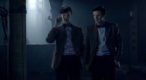 Eleventh-doctor-with-ganger