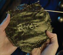 River Song Prayer Leaf