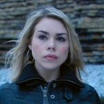 Rose Tyler on beach