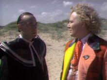 El Doctor se enfrenta al Valeyard