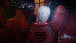 Hydroflax amenaza a Nardole - The Husbands of River Song