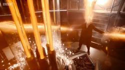 Duodécimo Doctor regenerándose