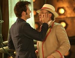 Encuentro entre el Quinto y el Décimo Doctor