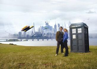 Doctor Who e Rose a New New York