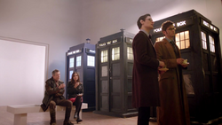 TDOTD - Doctores, Clara y TARDISes en National Gallery