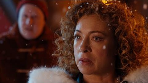 The Twelfth Doctor Meets River Song - Doctor Who The Husbands Of River Song - BBC