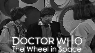 Doctor Who Zoe joins the TARDIS - The Wheel in Space