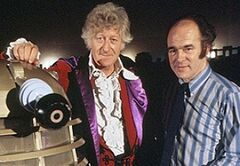 Barry Letts with Jon Pertwee