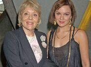 Diana Rigg & Rachael Stirling