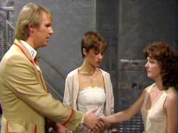 El Doctor se despide de Nyssa