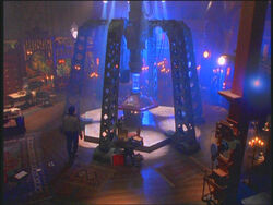 The 7th & 8th Doctor's TARDIS Console Room