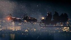 Last Christmas Riding in Santa Claus's Sleigh