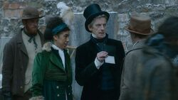 El Doctor y Bill fingen una inspección - Thin Ice