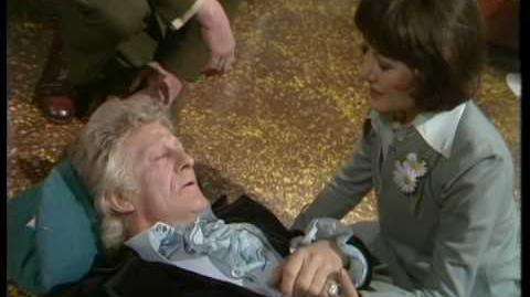 Third Doctor regenerates - Doctor Who Planet of the Spiders - BBC-0
