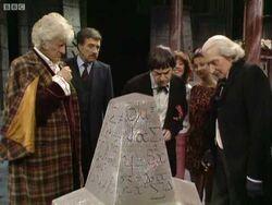 Five Doctors Tomb obelisk