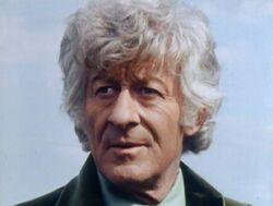 Third Doctor dark left