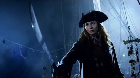 Amy Pond The Pirate The Curse of the Black Spot Doctor Who