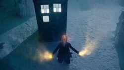 Duodécimo Doctor casi se regenera en la nieve - TDF
