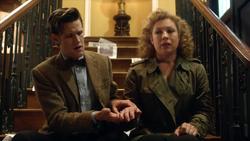 TATM - El Doctor coge la mano de River