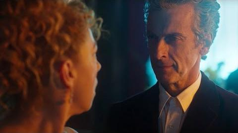 """Hello Sweetie!"" River Song Meets The Twelfth Doctor - Doctor Who- The Husbands Of River Song - BBC"
