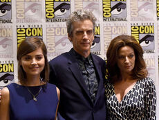 Doctor who cast comic con 2015