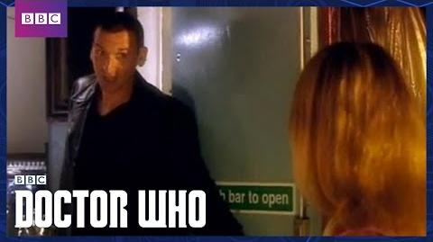 "Christopher Eccleston's First Scene ""I'm The Doctor By The Way"" Rose Doctor Who BBC"