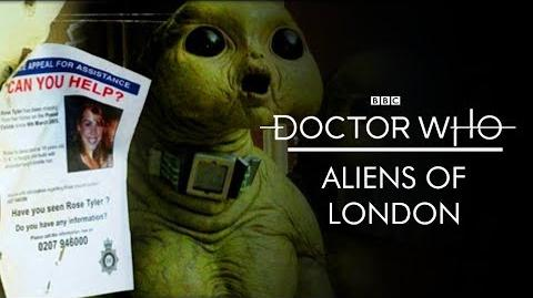 Doctor Who 'Aliens of London' - TV Trailer